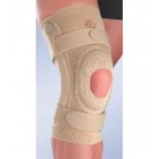 Бандаж коленный c открытой коленной чашечкой с силиконовой подушечкой и полицентрическим шарниром 8107 и 9107