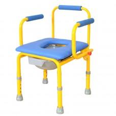 Детский кресло-стул с санитарным оснащением FS 813 размер S