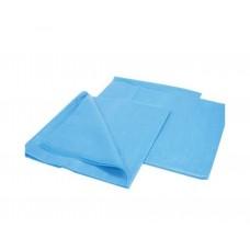 Простыня одноразовая стерильная 140х70 Спанбонд 25гм2 голубая