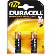 Элемент питания (батарейка) Duracell LR6-2BL Basic AA 2шт.
